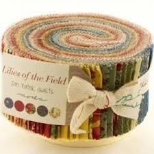 Jelly roll Lilies of the Field by Jan Patek Quilts