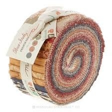 Jelly roll Rue Indienne by French General