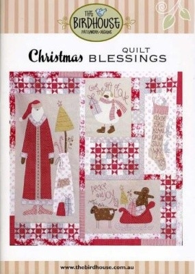 Christmas Blessings patern, by the Birdhouse