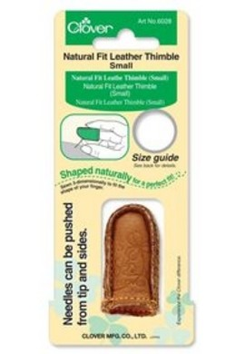 Natural Fit Leather Thimble Small 14,5 mm
