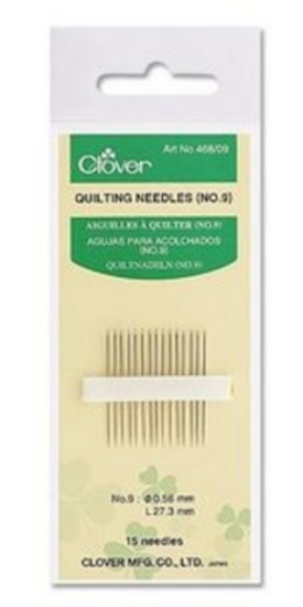Clover Quilting Needles no. 12