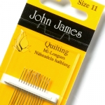 John James Quilting Needles size 10