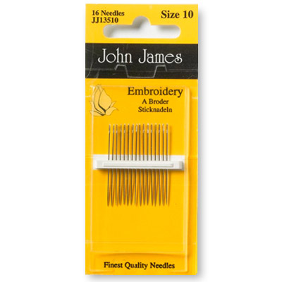 John James Embroidery Size 10