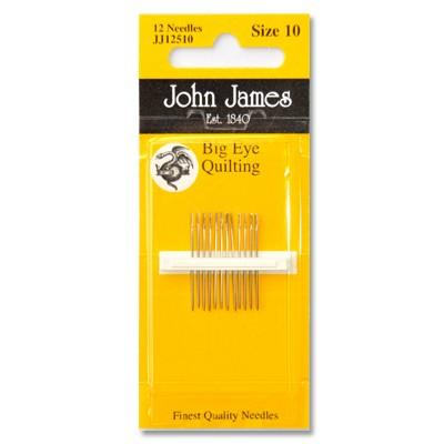 John James Big Eye Quilting Size 10