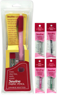 Sewline Fabric pencil navulling wit