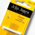 John James Sharps size 7