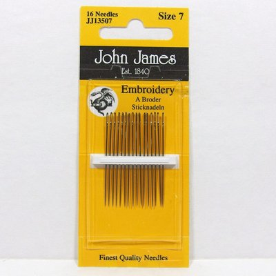 John James Embroidery Size 7