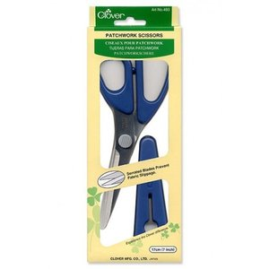 Clover Patchwork Scissors